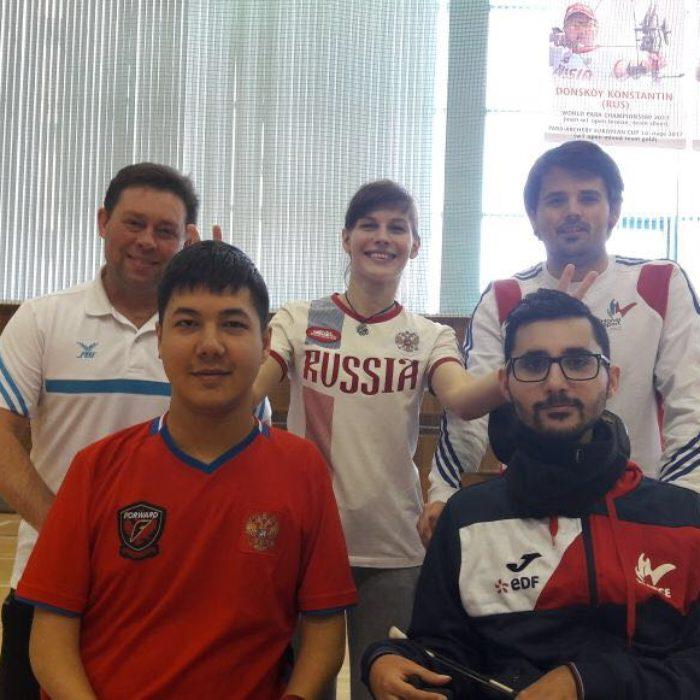 ТМ со сборной командой Франции (ВС3) 21-26 февраля